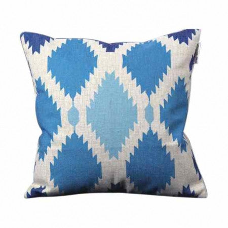 BLUE CUSHION WITH INSERT