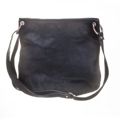 Amy Crossbody Bag in Black Hair on by Mooi