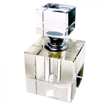 Crystal Perfume Bottle Small  Square