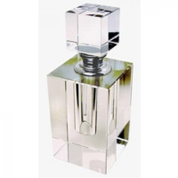 Crystal Perfume Bottle Medium  Square