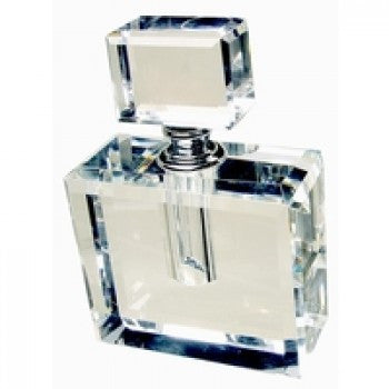 Crystal Perfume Bottle Extra Large Square