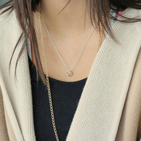Box Necklace -  by Matt Wise Jewellery