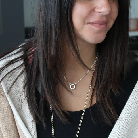 Classic Loop Necklace  - by Matt Wise Jewellery