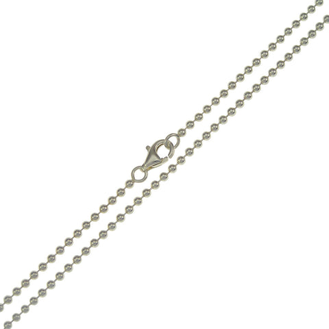 Stella 935 Sterling Silver Ball Chain 2mm