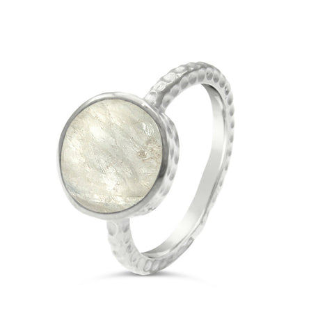 Eloise Sterling Silver and Precious Stone Ring
