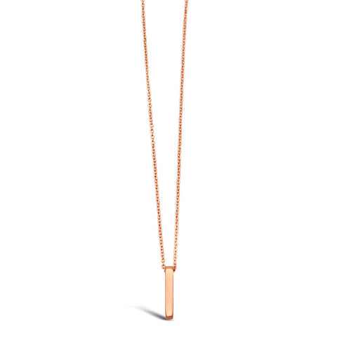 Jessie Rose Gold Stick Necklace
