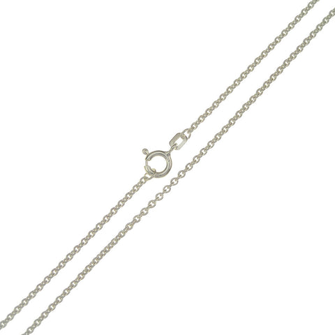 Tracy Sterling Silver 1.5mm Belcher Chain 45cm