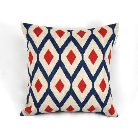 GEOMETRIC DIAMOND DESIGN CUSHION