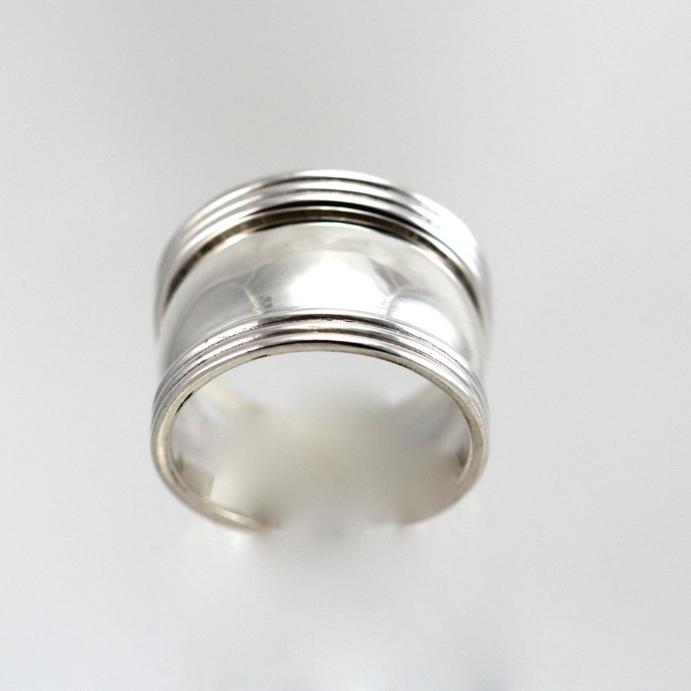 MORGAN STERLING SILVER RING