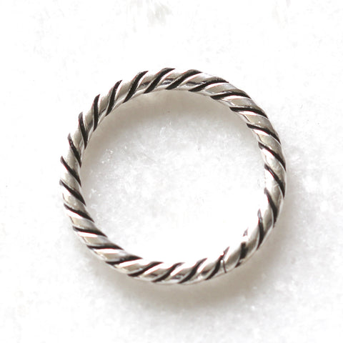 Rowena Sterling Silver Twist Ring