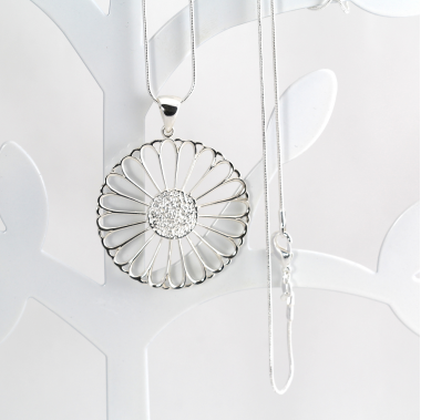 KIRSTY SILVER PENDANT