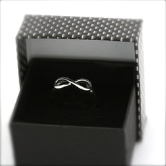 INFINITY  RING - Sterling Silver