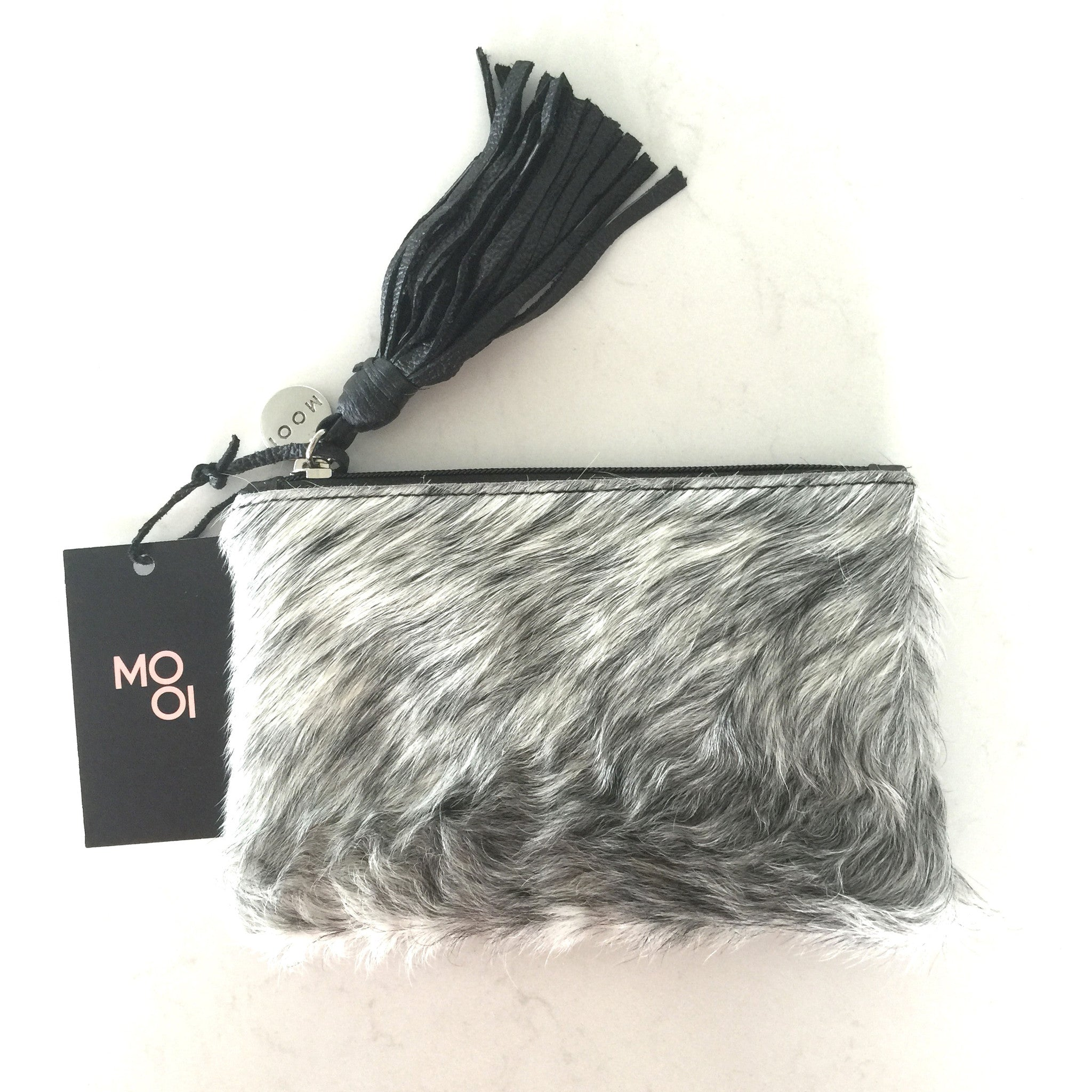 Chloe Black and White Purse in Salt and Pepper by Mooi
