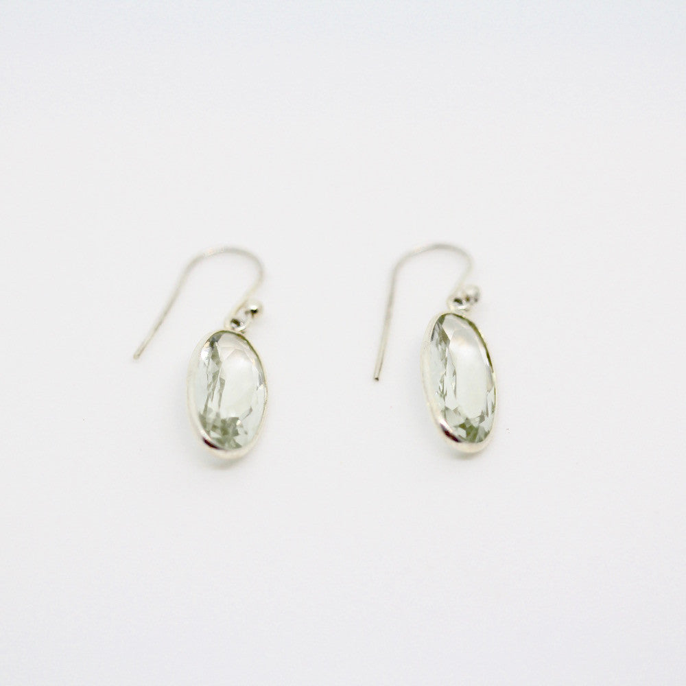 Emily Green Amethyst Sterling Silver Earrings