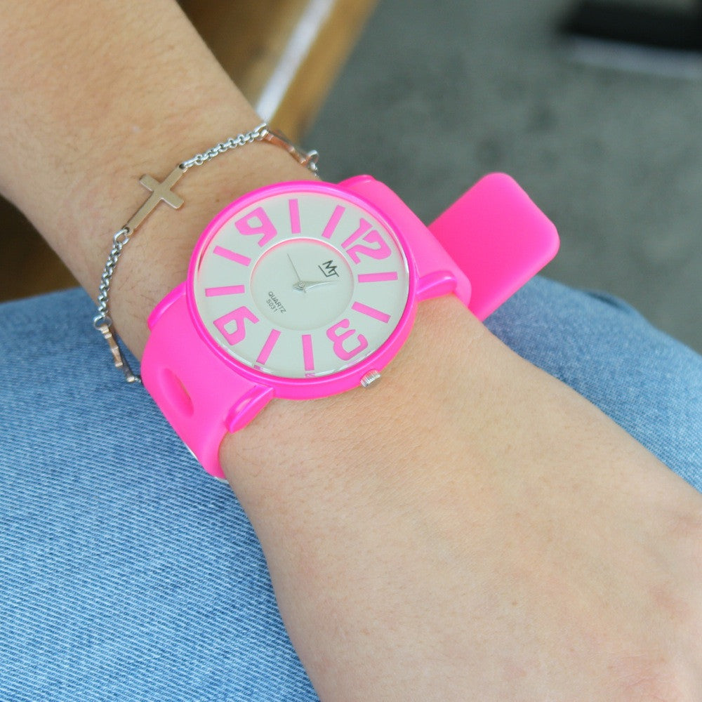 MJ Straps Neon Watch