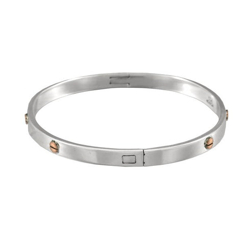 Ichu Copper Screw Bangle
