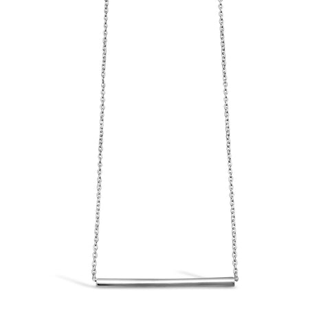 Robin Sterling Silver Bar Necklace