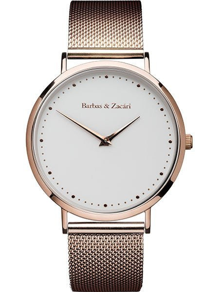 Dawn Moments Watch from Barbas and Zacari Rose Gold