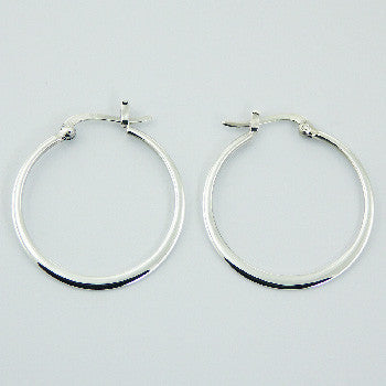 Brooke Sterling Silver Hoop Earrings