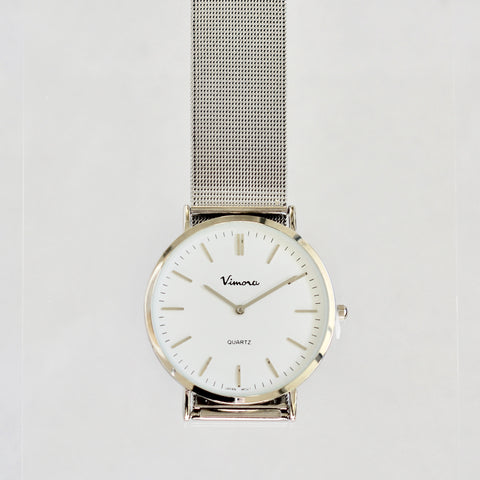 Christy Ultra Slim Vimora Mesh Band Watch