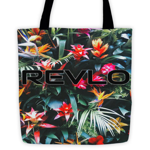 Flower power Beach Bag - REVoLtiOn