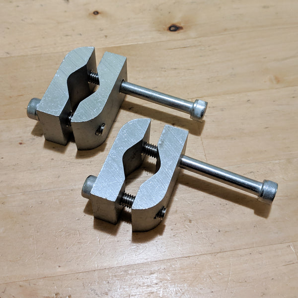 Moped Mount Clamp Set - Small, Medium, Large