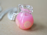 Pink Lemonade Pitcher Necklace