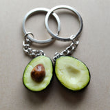 Avocado Best Friend Key Chain Set