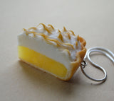Lemon Meringue Pie Necklace