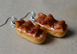 Maple Bacon Doughnut Dangle Mini Food Earrings