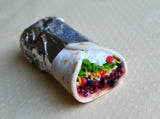 Burrito Mini Food Fridge Magnet