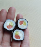 Polymer Clay Maki Sushi Adjustable Ring