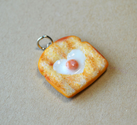 Egg in a Basket Toast Charm