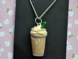 Coffee Frappuccino  Polymer clay Necklace