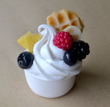 Frozen Yogurt Cup Mini Food Fridge Magnet