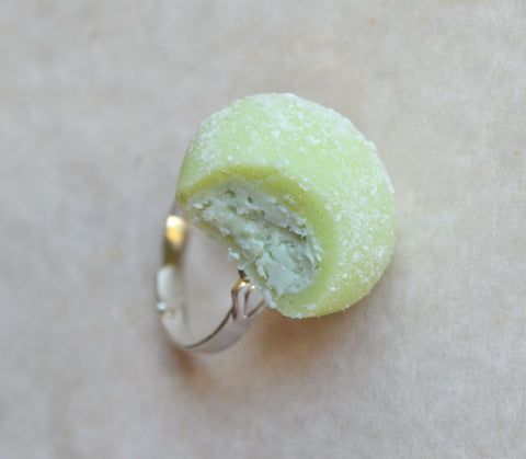 Green Tea Matcha Ice Cream Mochi Ring