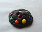 Rainbow Candy Chocolate Cookie Polymer Clay Magnet