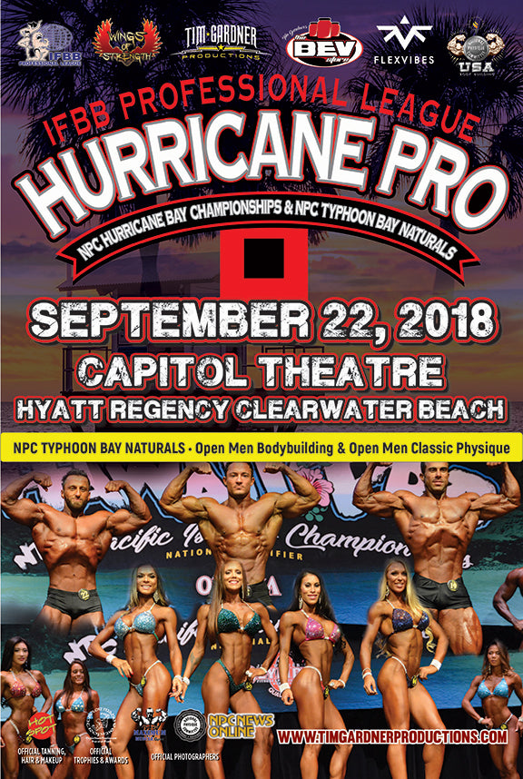 IFBB Pro. League Hurricane Pro High Res Images