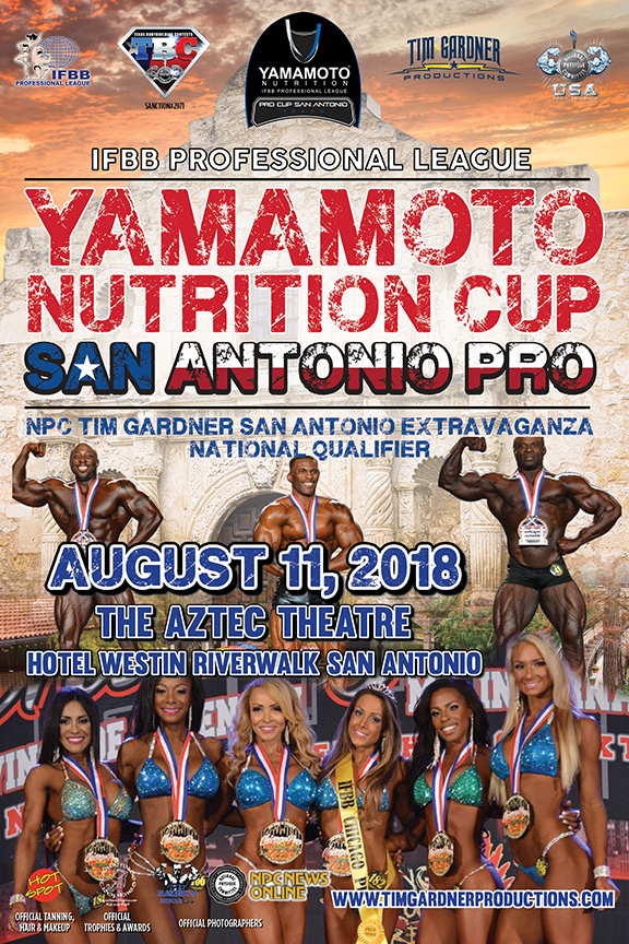2018 IFBB San Antonio Pro High Resolution Images