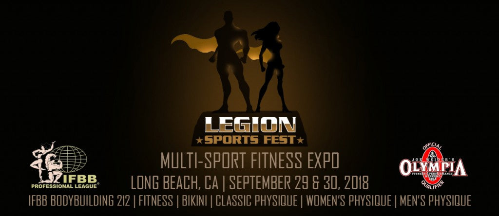 2018 IFBB Pro. League Legion Sports Festival High Res Images