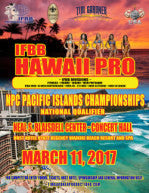 NPC Pacific Coast Championships Photo Package