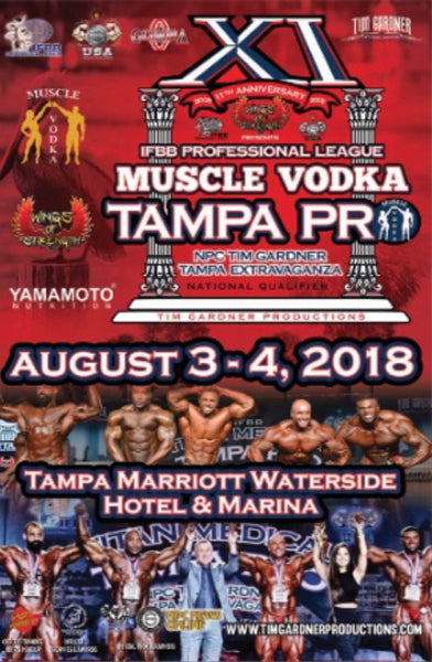 2018 IFBB Tampa Pro High Resolution Images
