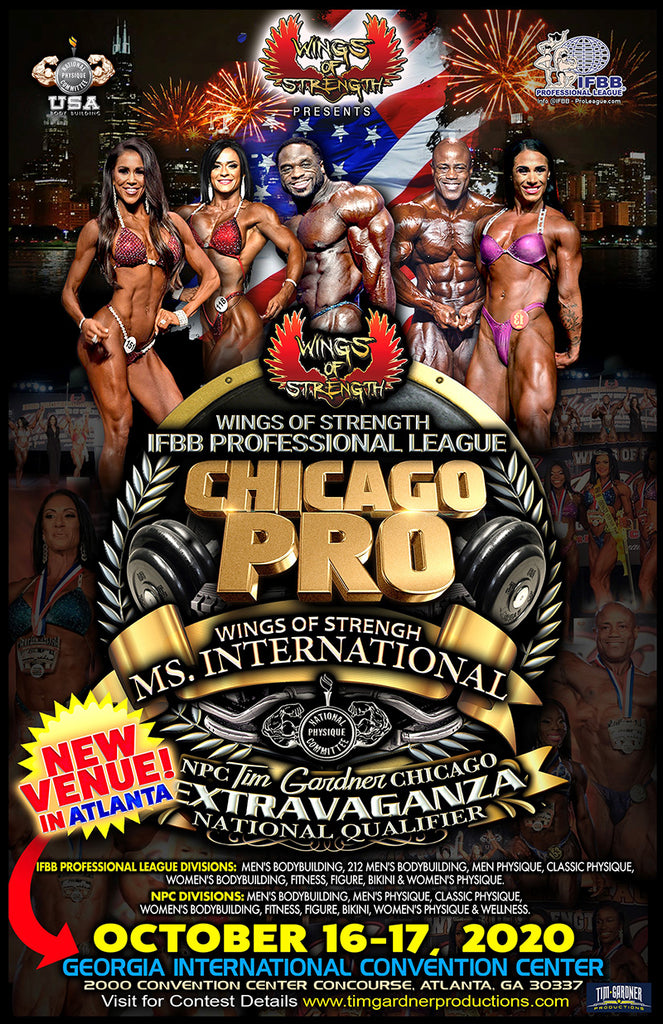 2020 IFBB Pro. League Chicago Pro High Resolution Images