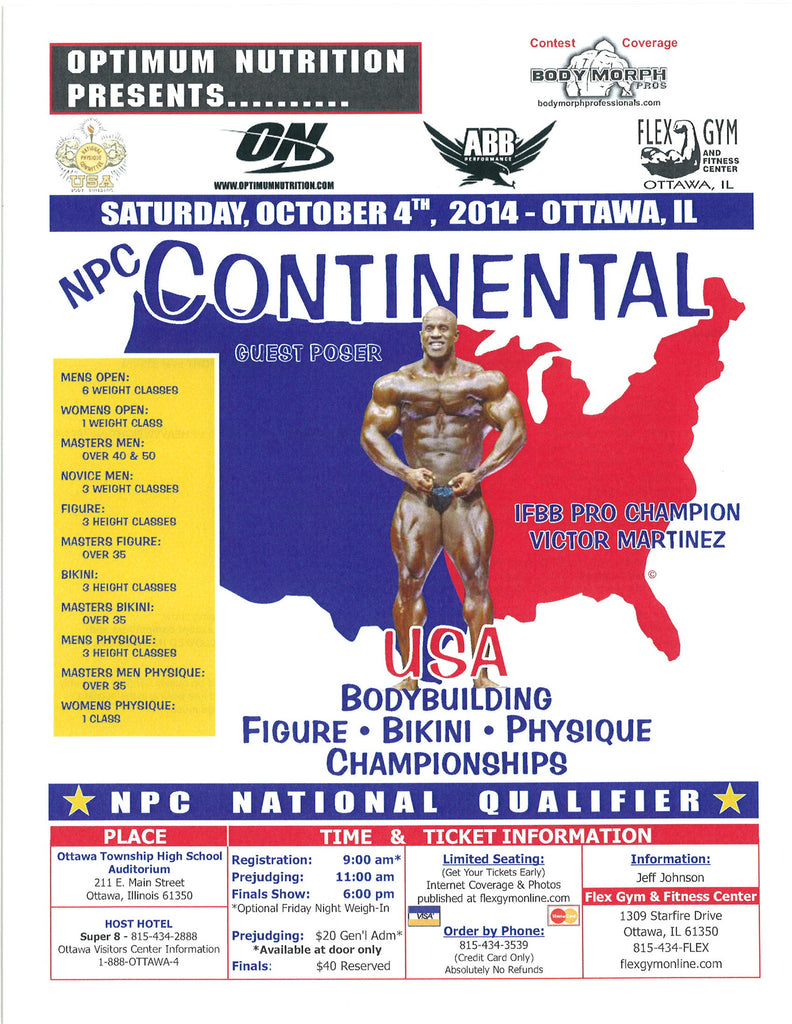 Zip File Of Photos From NPC Continental USA Championships