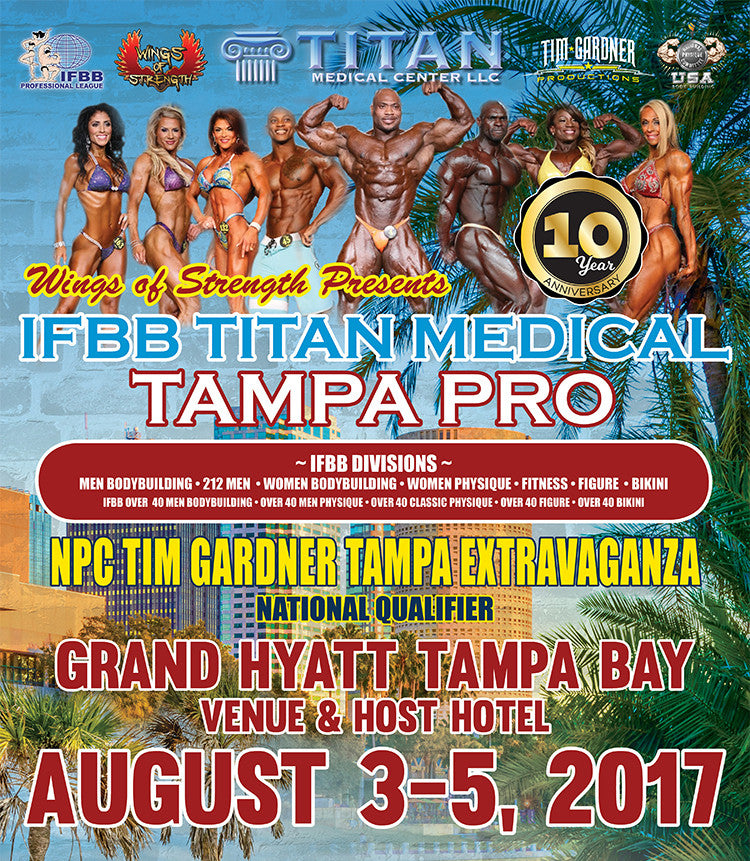 NPC Tim Gardner Tampa Extravaganza Photo Package