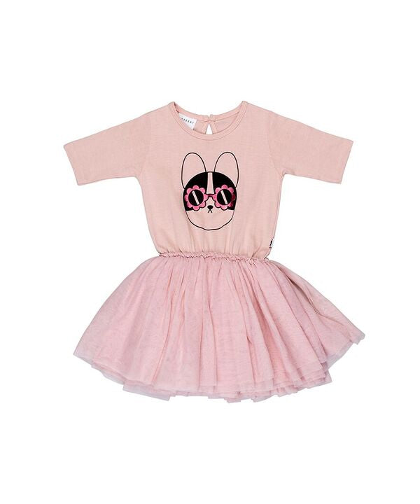 Huxbaby Flower Frenchie Ballet Dress
