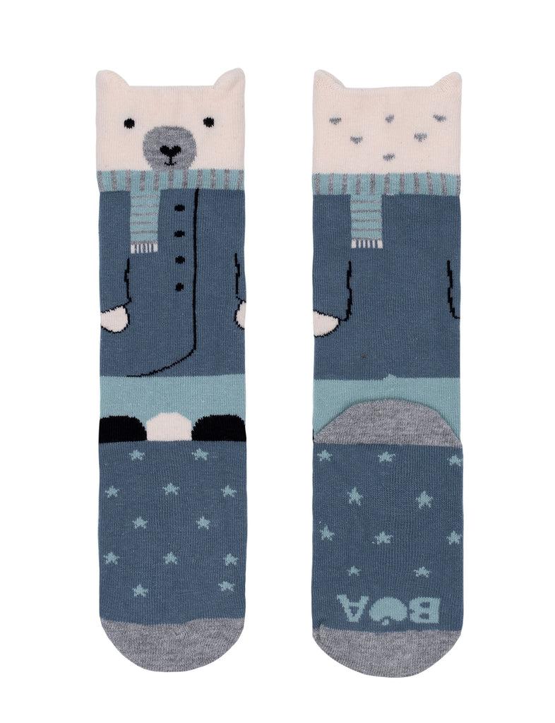 Billy Loves Audrey - Well Dressed Bear Socks