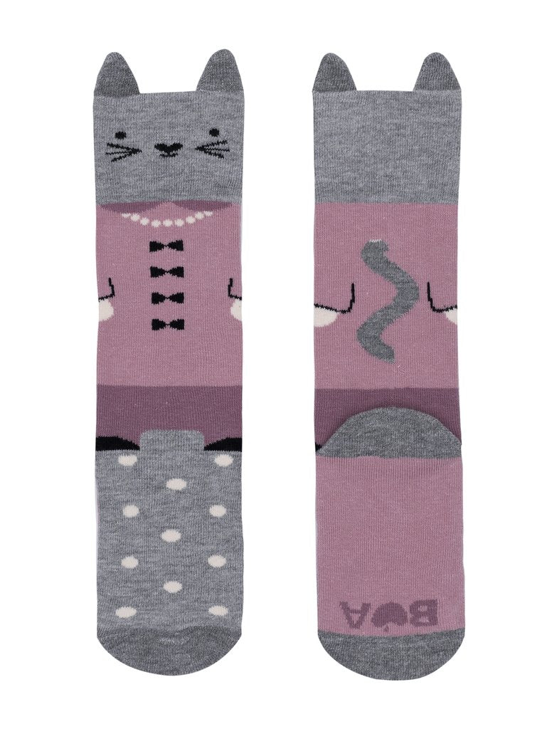 Billy Loves Audrey - Well Dressed Cat Socks