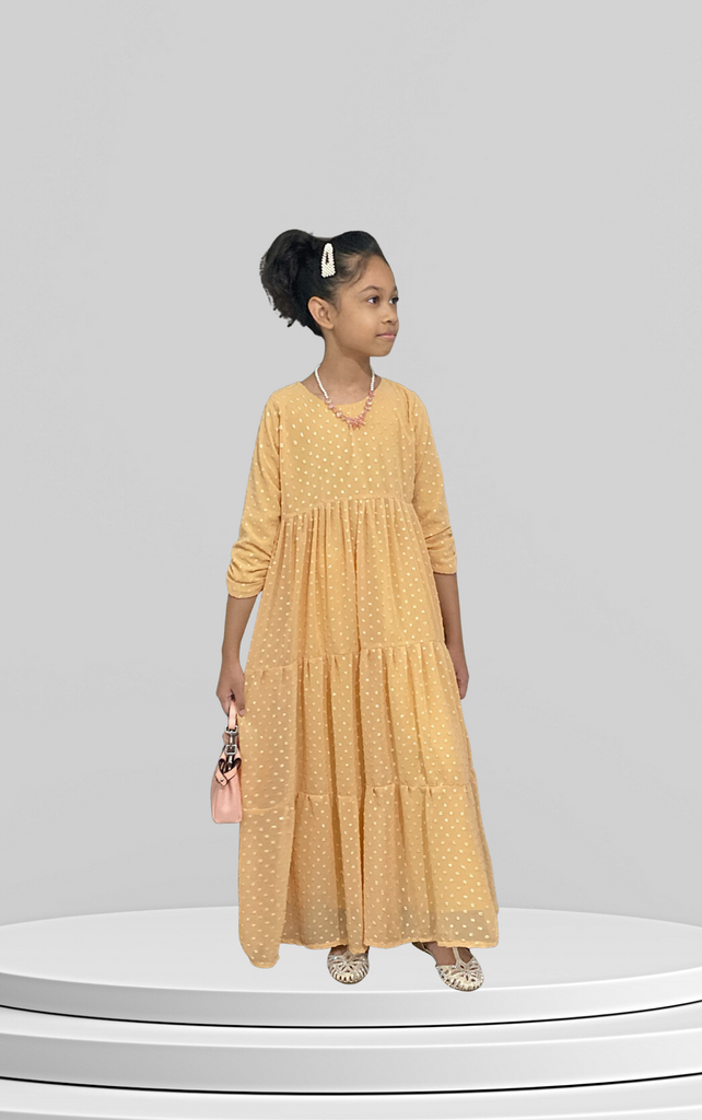 Kira Princess Dress (Kids) - Mayang Kemuning