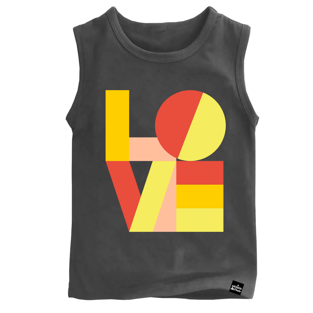 Whistle & Flute Kids Modern Love Sleeveless T-Shirt
